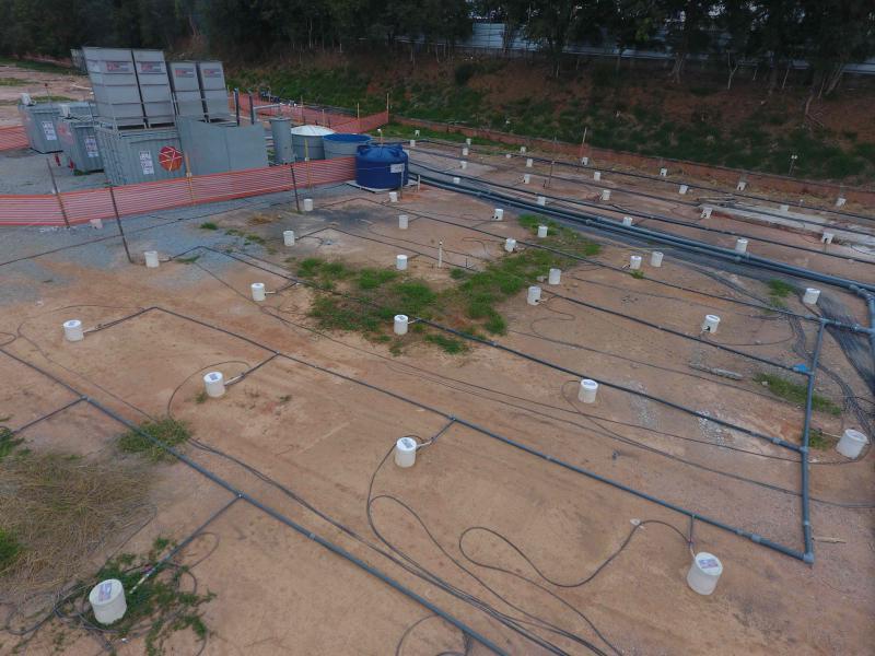 Tratamento de água subterrânea