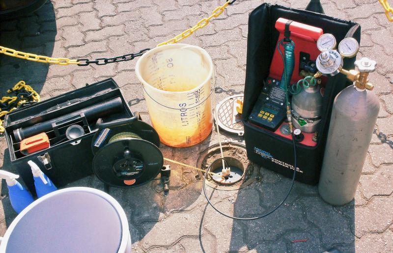 Tratamento da água de captação subterrânea