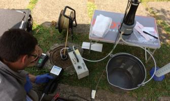 Amostragem de agua subterranea baixa vazão