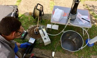 Análise e remediação da contaminação do solo
