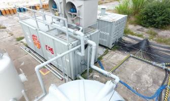 Equipamentos para remediação ambiental